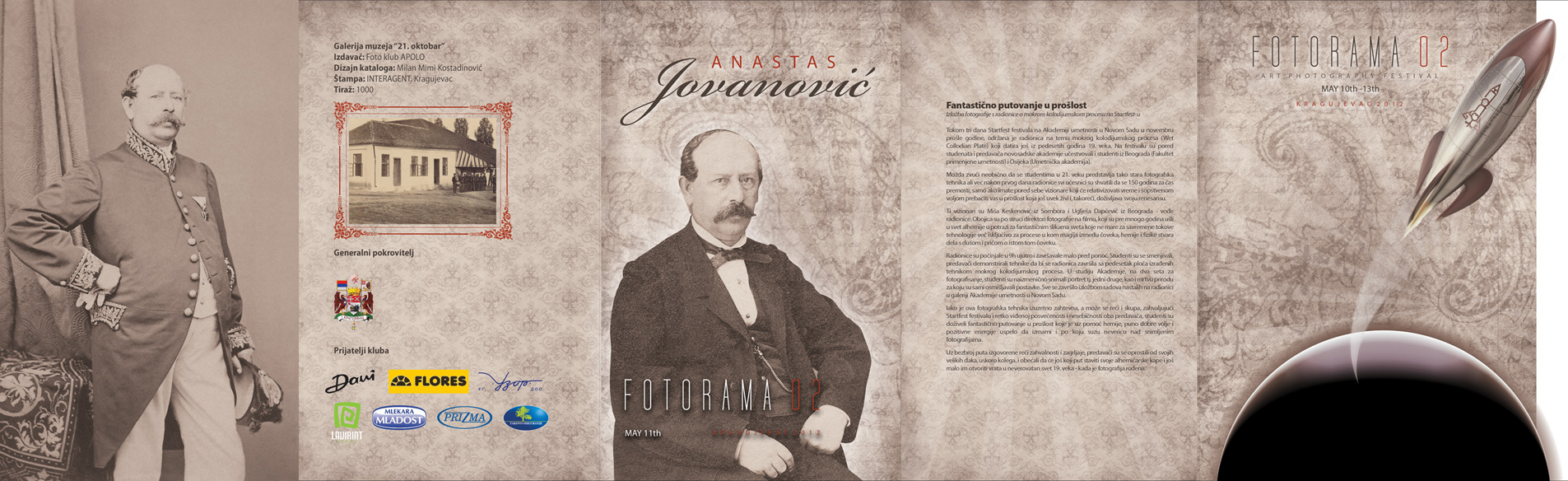 Opening of photo exhibition of old photographs from Kragujevac (19th and early 20th century), Anastas Jovanović