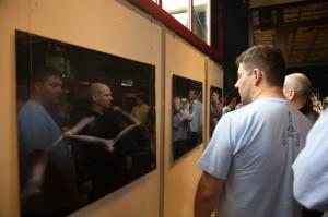 """Sa otvaranje samostalne izložbe Nikole Miljkovića, """"Izvan Ličnog"""""""