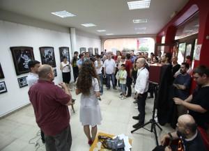 Otvaranje izložbe Marka Stamatovića Bibin tavan 04