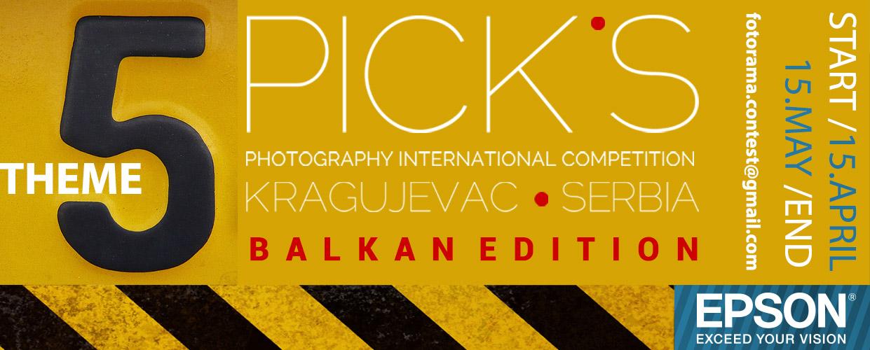 Konkurs PICKS- BALKAN EDITION