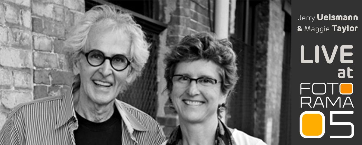 Jerry Uelsmann & Meggie Taylor - LIVE