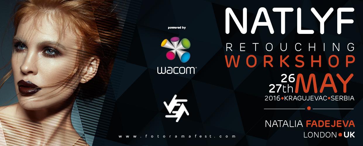 NATLYF Retouching Workshop - Natalia Fadejeva, London UK