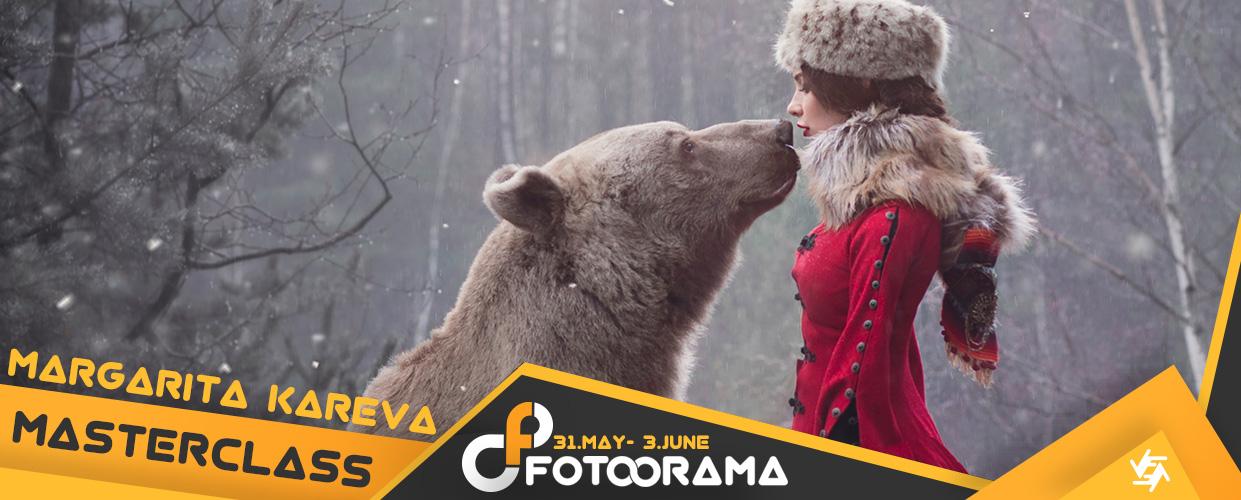 Masterclass workshop of fantastic photographer Margarita KAREVA