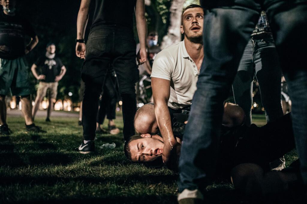 Belgrade Anti-lockdown protest